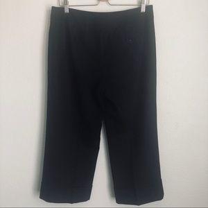 Ann Taylor Pants - Ann Taylor Black Cropped Pants w/Cuffs